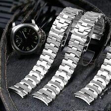 24mm Stainless Steel Bracelet Watch Strap for Panerai Luminor Pam 411 111 PAM382