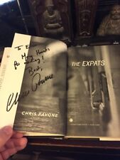 The Expats by Chris Pavone Signed 1st! HBDJ 2012 Excellent Condition