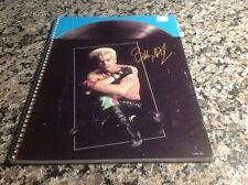 Vintage 1984 Billy Idol spiral notebook!!!! Never used!