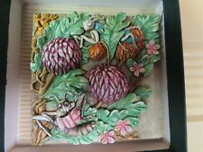 "Picturesque Tiles Byron's Secret Garden ""Mums Reading Room"" Harmony Kingdom Prem"