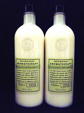 Bath Body Works Aromatherapy Eucalyptus Spearmint Relax Foam Bath, NEW x 2
