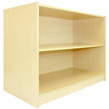 Shop Counter Maple Retail Shelves Display Storage Cabinet Till Block A1200