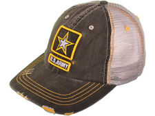 United States Army Star Distressed Military Adjustable Snap back Style Cap Hat