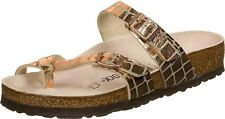 Birkenstock Mayari MF Gator Gleam Copper Regular Fit Womens Sandals