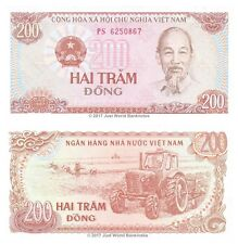 Vietnam 200 Dong 1987 P-100a Banknotes UNC