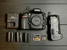 Nikon D800 36.3MP Digital SLR Camera (Body Only) + Batteries, Grip, Memory Cards