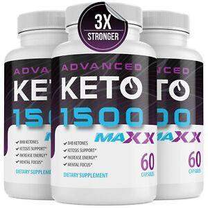 KETO 1500 Xtra Strength BHB advanced weight loss Diet Pills  work as shark tank