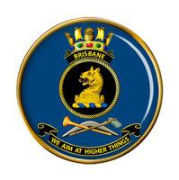 Hmas Brisbane Royal Australien Marine Broche Badge