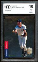 1993 SP #279 Derek Jeter Rookie Card BGS BCCG 10 Mint+