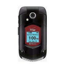 Good - Kyocera DuraXV Plus E4520PTT+ 512MB Black (Verizon) w/ Push to Talk Plus