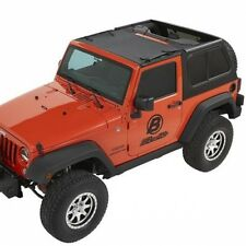 Jeep Wrangler JK Sun Bikini Top Targa Style Black Diamond Bestop 07-17