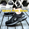 AtreGo Men's Safety Work Steel Toe Cap Trainers Indestructible Lightweight Shoes