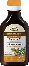 Green Pharmacy Burdock Oil with Argan Oil 100ml