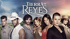 Tierra De Reyes.. Telenovela Completa Mexicana 40 Dvds