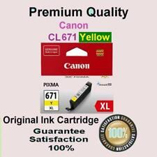 Any 1 x Genuine PGI 670XL BK CLI 671XL BK/C/M/Y CANON PIXMA TS9060 MG7766 MG5760