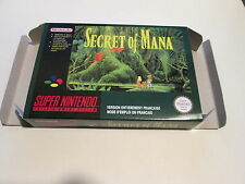 Secret of Mana - PAL  - Super nintendo - Snes - Only Box