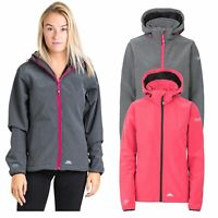 Trespass Ramona Womens Softshell Jacket Waterproof Hiking Coat with Hood