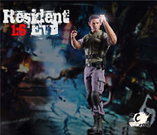 ZC Toys 1/6 Collectable Resident Evil Chris Redfield Action Figure Full Set