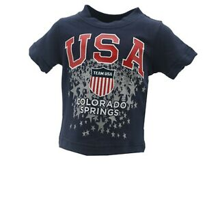 Team USA Colorado Springs Official Olympic Apparel Infant & Toddler Size T-Shirt