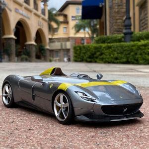 1:18 Bburago Ferrari MONZA SP1 Diecast Alloy Collection Car Model Men Gift