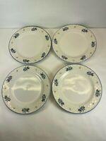 Hydrangea Farberware Set Of 4 Salad Plates