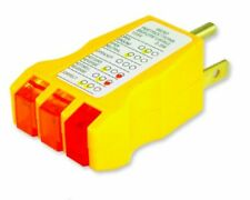 Electrical Outlet Receptacle Tester Faulty Wall Plug Wire Finder GFCI Circuit
