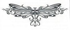DRAGONFLY TRIBAL temporary Tattoo