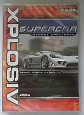 SUPERCAR STREET CHALLENGE PC CD-ROM RACING GAME brand new & sealed XP