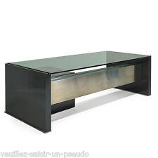 Osvaldo Borsani, Tres Grand Bureau En Metal Laque, Aluminium Et Verre , Edition