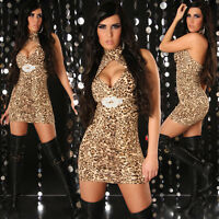 SEXY WOMEN CLUBBING PARTY TOP COCKTAIL LADIES MINI DRESS SIZE 6 8 10 12 S Blouse