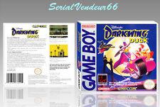"Boitier du jeu ""DARWIN DUCK"", Game Boy. Nintendo. PAL FR. HD. SANS LE JEU."