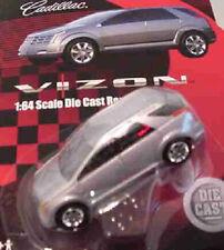 Cadillac VIZON SILVER 1:64 Racing Champions 78127