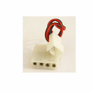 6inch 3PIN (M) TO 4PIN (M/F) Fan Adapter Cable (10 pcs)