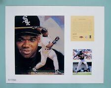 Frank Thomas Chicago White Sox 1997 MLB Baseball 11x14 Lithograph Print (rare)