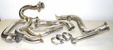 05-10 Mustang GT Header & Downpipe to Single Turbo for T4 GT45 Turbocharger