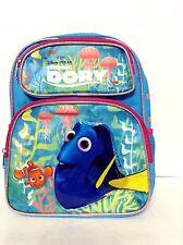 "Disney*Finding Dory- 12"" School Backpack -Dory& Nemo- Book Bag-8845"