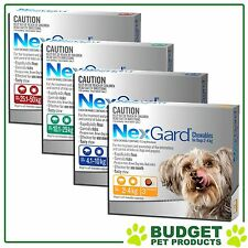 NEXGARD For Dogs Flea and Tick medication/treatment 3 chews All sizes