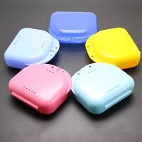 Prothesen Box Knirscherschienendose Zahnspangendose  Gebissdose Kit