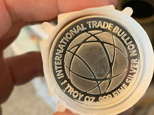 ITB 1 Oz 999 Fine Silver USA Limited Edition Round International Trade