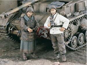 Verlinden 1/35 VP 1950 2 deutsche Soldaten bei der Gefechtspause