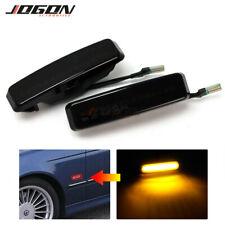 LED Dynamic Side Fender Marker Light For BMW 5 Series E39 525i 528i 530i 540i M5