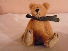 """Boyd's Boyds Mohair Bear Collection 5"""" Mini Tiny Teddy 1997-98"""