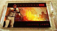 CHIPPER JONES 2000 SKYBOX PREMIUM SKYLINES STAR RUBY PARALLEL #SL8 SERIAL #12/50