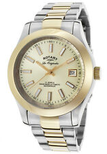 Rotary Les Originales Men's Swiss Made Automatic Watch Gold Tone $1395 NEW