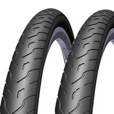 2 Stück Rubena Cobra V 58 Classic 26x1.90 (50-559) Fahrrad Slick Reifen Black