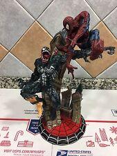 KOTOBUKIYA SPIDER-MAN VS VENOM STATUE MARVEL DIORAMA  MAQUETTE 481/1500 -RARE!