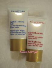 CLARINS Vital Light Day & Night Cream 15ml each