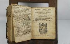 4929 GABRIELIS FALLOPPII MUTINENSIS PHILOSOPHI AC MEDICI.IMP.APUD PAULUM. 1571.