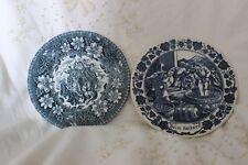 1 Royal GOEDEWAAGEN Assiette, 1 Royal Tudor Ware Coaching Taverns 1828 Plates