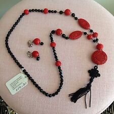 Vivian Chen Shaw Custom Necklace With Matching Earrings